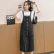 【dress】今季マストバイカジュアル ボタンデザインデニムワトップス超人気 M-0341