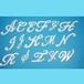 アルファベット48ミリ(ビューティー)【ユリシス・シート】