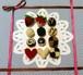 クレジット決済以外も可「バレンタインチョコ」印刷物 編み図(印刷料・送料込み)