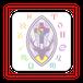【送料無料】アンベルノッテ魔術学校のロゴハンカチ