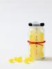 【京あめ いろむすび】黄檗色(グレープフルーツ) ビン入タイプ
