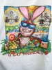 """Vintage FABRIC ART """"GO TROPICAL!!l"""" T Shirt Made In USA"""