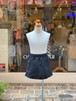KIDS:SOTODE【ソトデ】Taffeta Wrap Short Pants(BLACK/90〜150cm)高機能ラップパンツ