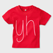 yh Kids T-shirt (RED)