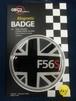 124番 ゴーバッジ FLAG BLACK JACK F56S