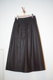 Ladies'  / synthetic leather SKIRT