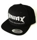 NINJA X(キャップ/スナップバック)Original thrash rogo Snap-back Hat Black 4105