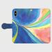 【M】融合-Fusion/手帳型スマホケースiPhone5/5s/6/6s/7/SE/X/XS/、AndroidMサイズ