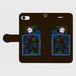 ✳️受注生産✳️ 手帳型iPhoneケース くらやみスマホ依存