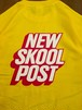 NEW SKOOL POST/TEE