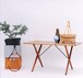 Hans J Wegner Cross Leg Coffee Table