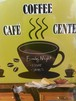 コーヒーカップチョークボード(ウォールステッカー)