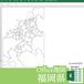 福岡県のOffice地図【自動色塗り機能付き】