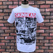 Deadstock The Skinhead Newspaper T-Shirt White Medium