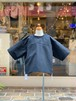 KIDS:nunuforme【ヌヌフォルム】サイドテープT(Black/95〜145cm)Tシャツ