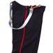 1990's [イギリス軍] サスペンダー付き サイドライン ドレスパンツ ダークネイビー×レッド 表記(W88cm) ヴィンテージ
