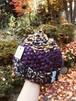 手編みニット帽 渋い色のお子様サイズ