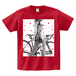 H/A BICYCLE STAR PHOTO T-SHIRTS GARNET-RED