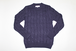 CABLE KNIT   -NVY-