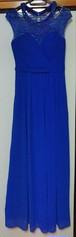 ロイヤルブルー ロングドレス
