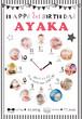 赤ちゃんの誕生日ポスター_14 B0サイズ