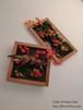 秋の造花 額縁アレンジメントセット (紅葉、紫陽花、苔)