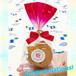 十三祝い 学校行事  プチギフト 結玉(ゆいだま)赤 1個入10袋セット