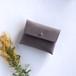 suare card case #grayish purple/ スアレカードケース・名刺入れ #灰紫
