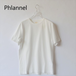 Phlannel sol フランネル ソル Light Suvin Cotton Unisex Tee
