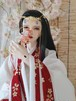 【即納60cm/70cm】桜模様古装服Set【SDgr/SD17】
