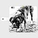 手帳型スマホケース iphone =rockdog