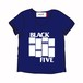BLACK FLAG no no BLACK FIVE V-TEE ( N )