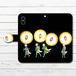 #081-008 手帳型iPhoneケース 手帳型スマホケース 全機種対応 iPhoneXs/X 妖怪 かわいい Xperia iPhone5/6/6s/7/8 おしゃれ ファンタジー Galaxy ARROWS AQUOS HUAWEI Zenfone タイトル:狐火 作:嘉村ギミ