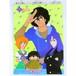 Igano Kabamaru & Dorvack - B3 size Double Sided Poster Animedia 1983 November