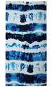 SLOWTIDE BEACH TOWEL INDIGO SUN