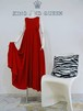 Red Silk Long Maxi Dress 赤 シルク ロング マキシ丈 ドレス KQDIX0830