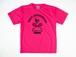TUTC DryTシャツ 蛍光ピンクxブラック TS-001