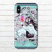 #056-001 iPhoneケース スマホケース iPhoneX おしゃれ 人気 Xperia iPhone5/6/6s/7/8 メンズ クール Galaxy ARROWS AQUOS タイトル:情熱 作:ミナミ