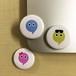 【送料込!】待ち合わせアプリ「Ciao!(チャオ)」缶バッチセット 2.4cm×2.4cm