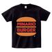 minario / MINARIO BURGER 2 T-SHIRT BLACK