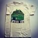 House T-shirts (Natural) Green print