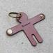 鍵を抱くキーケース/dark brown