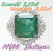【高級】大粒天然エメラルド ダイヤリング 3.23ct 0.86ct プラチナ ~【Luxury】Large natural emerald dialing 3.23ct 0.86ct platinum~