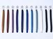 ドレスシューズ用 カラーシューレース 平紐
