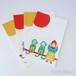 ポストカード セット:GIRL & MONKEYS