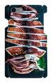 【 iPhone7/8用 】イカ天日干し お魚スマホケース 送料込み