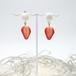 苺とホイップのイヤリング/チタンピアス