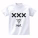 ERICH / XXX LOGO T-SHIRT WHITE