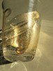 麻炭ガラス・フリーグラス「Golden Wave」 (ヒマラヤ産原種 麻炭使用)/受注制作