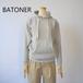BATONER /バトナー・loopweel knityyarn Hoodie